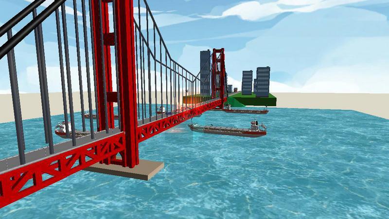 金门大桥(简化版)
