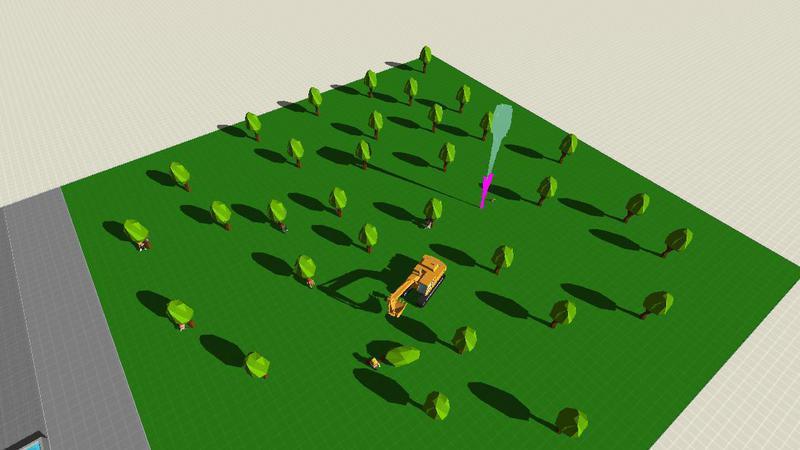 绿色植树节