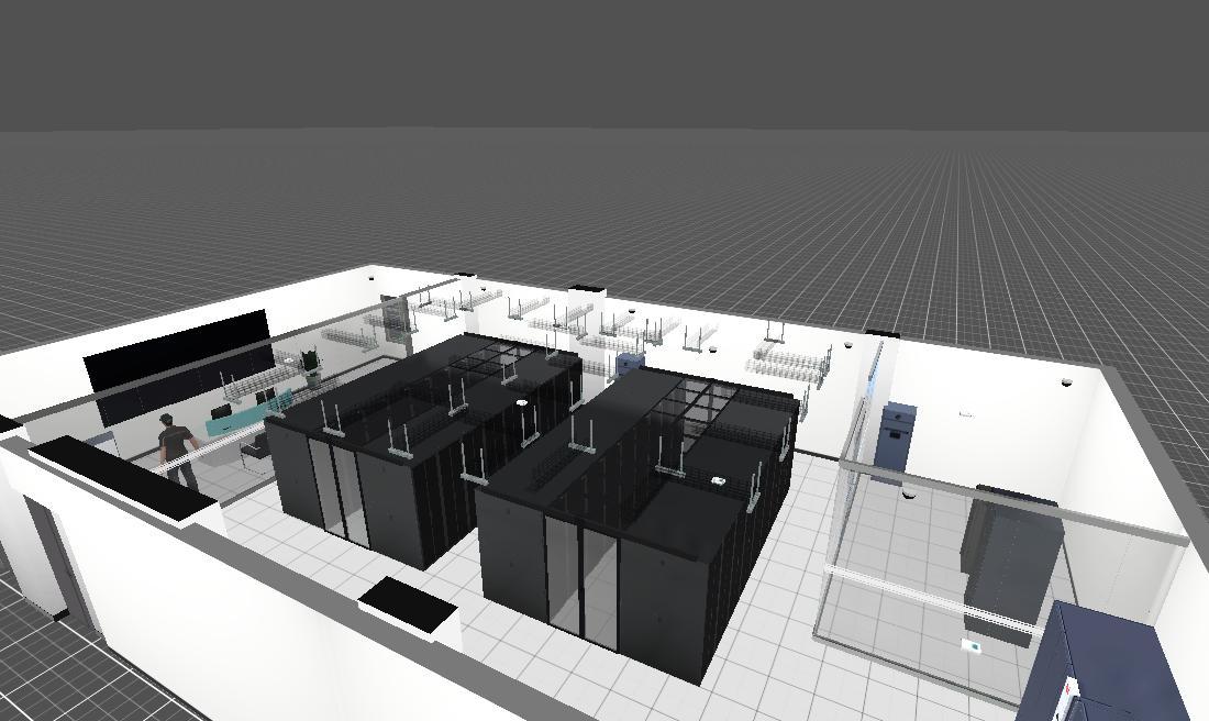3D机房(华为微模块2)