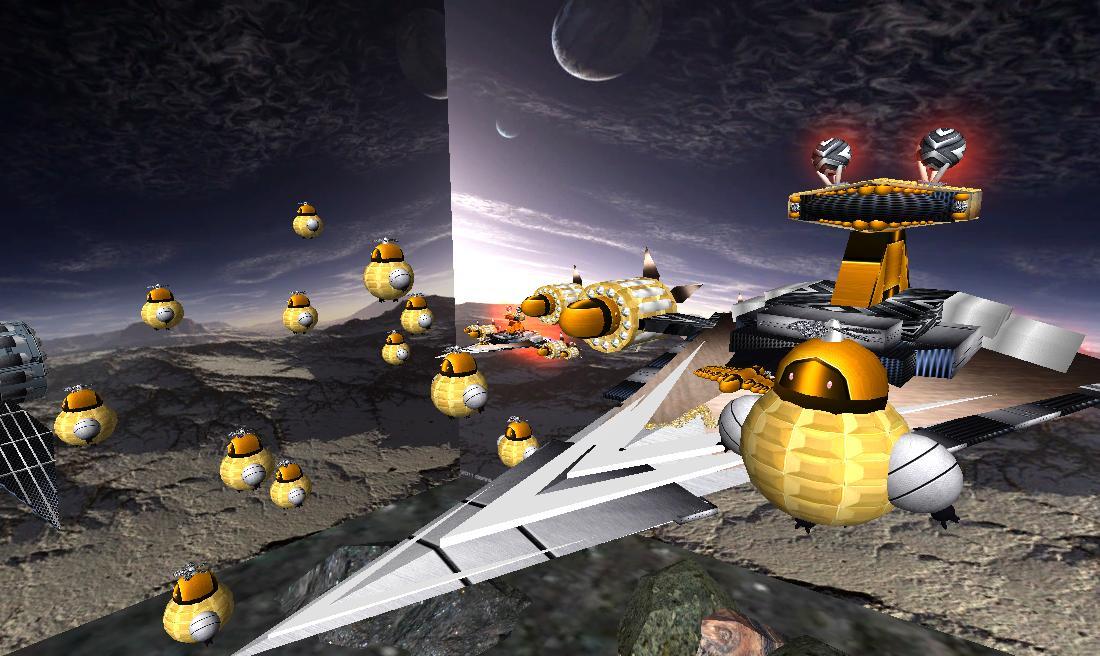 星球大战----小蜜蜂号星舰