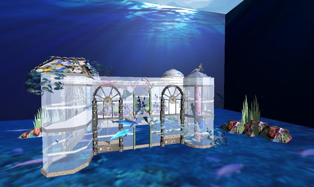 美人鱼之水晶宫