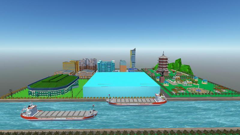 奥运体育场——水立方